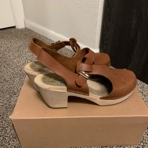 Lotta's from Stockholm Shoes - Lotta's from Stockholm wooden t-bar clogs